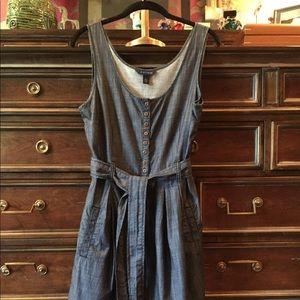 Tommy Hilfiger Fit-and-Flare Denim Dress